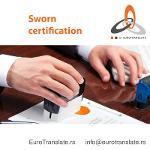 Sworn certification