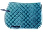 Horse Racing Jumping Velvet Saddle Pad