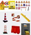 attrezzatura per cantieri stradali