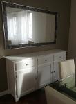 Mueble Aparador En Madera Lacado En Blanco