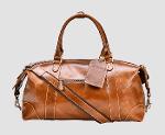 Custom Leather Travel & Luggage Bags