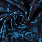 Heavy satin silk fabric