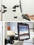Support arms / swivel arms for monitor mountings