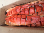 Cold Smoked Trout Yukola 0.35 kg + gutted (c) unpacked per 1 kg