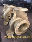 Copper casting pump cover