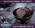 Alpedo Showcase Chocolate Ice Cream