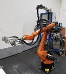 hand spraying robot