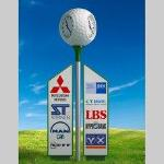 golf clock golfclock