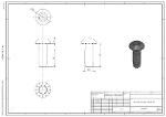Zentralschraube S12x30-T50