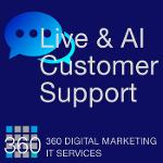 Live/Automated AI Customer Engagement & Support