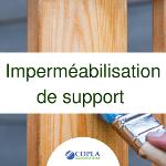 Imperméabilisation de support