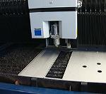 CNC laser cutting and CNC press braking