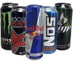 Monster Energy Drink, Hype Energy Drink, XL Energy Drink