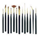 13Pcs Mini Art Painting Brushes Watercolour Paint Brush Set