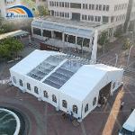Tentes temporaires de haute qualité de 15 mètres pour les év