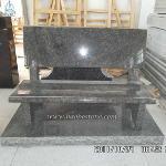 Natural Stone Granite Grave Bench Monuments