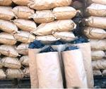 Coal in craft bags