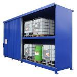 Mit DIBt-Zulassung: Regalcontainer Typ IBC 14-24.2
