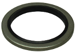 U-seal-ring 48,44X58,60X3,2 stainless st