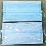 masque facial jetable de type IIR 3 plis masque facial bleu