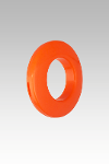 """Pg20-21ab #6 (13/16"""") Orange. Fashionable, Affordable And Vigorous Plastic"""