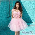 Pink dress | MISS CHIC