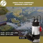 Drainage pumps / Bombas de drenaje