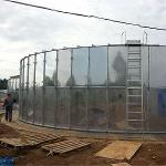 Non-welded Stainless Steel Sectional  Tank