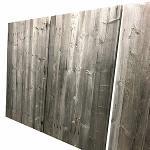 Panneaux en vieux sapin 3 plis gris/brun