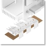 Silikonfolie glasfaserverstärkt TFO-C-SI 1,4 W/mK