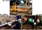Meuleuses de rail électriques