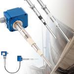 Sensor capacitivo RFnivo® RF3000 para medição pontual