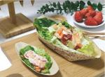 Bamboo food container