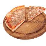 Planche ronde de Pizza