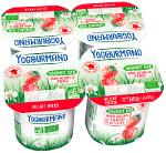 Yaourt Yogourmand Bio aromatisé fraise