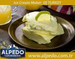 Alpedo Showcase Lemon Ice Cream