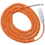 Coiled Grounding Cable with Socket, for EKX-4
