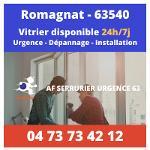 Vitrier à Romagnat | 24/24 et 7/7