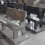 Morning Rose Granite Grave Bench Monuments