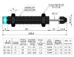 SC1415 nonadjustable type shock absorbers