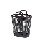 Vertical plastic mesh basket