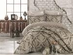 Jacquard and Fiber Filling King Size Bedspread- Angel