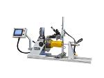 Automatic circumferential welding lathe, welding positioner