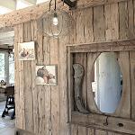 Barn wood sleepers