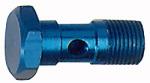 Hollow screw, G 1/4, AF 17, Aluminium