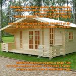 prefab wood GARDEN CABINS from russia (factory kits)