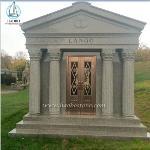 Manufacturer Customized 6 Crypts Granite Mausoleum Design For U.S.A.
