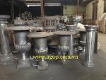 Cast iron vase gray cast iron vietnam