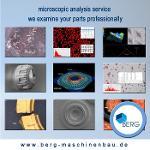 Mikroskop-Analyse-Dienst
