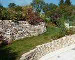 Mur et muret en pierre de Bourgogne